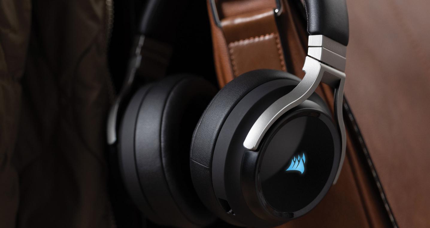 Giới thiệu Tai nghe không dây Gaming Corsair Virtuoso RGB Carbon (CA-9011185-AP)