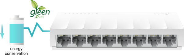 Switch TP-Link LS1008 8 Port 4