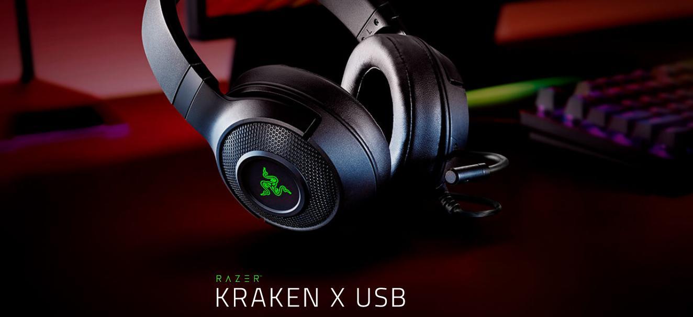 Tai nghe Razer Kraken X USB Black (RZ04-02960100-R3M1)