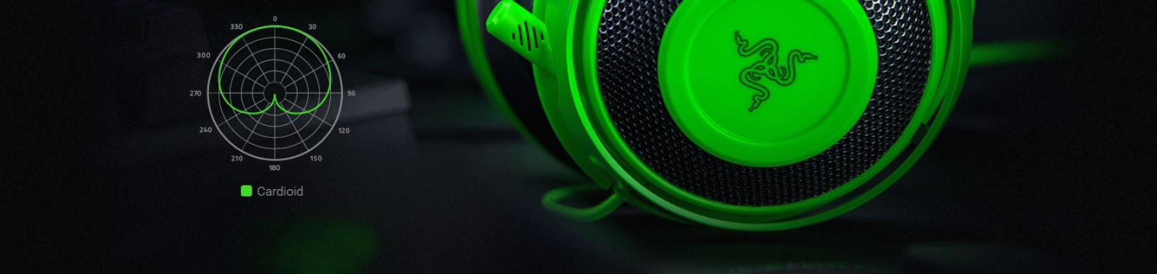 Tai nghe Razer Kraken Multi Platform Wired Gaming Headset Quartz RZ04-02830300-R3M1 trang bị micro khử ồn tốt