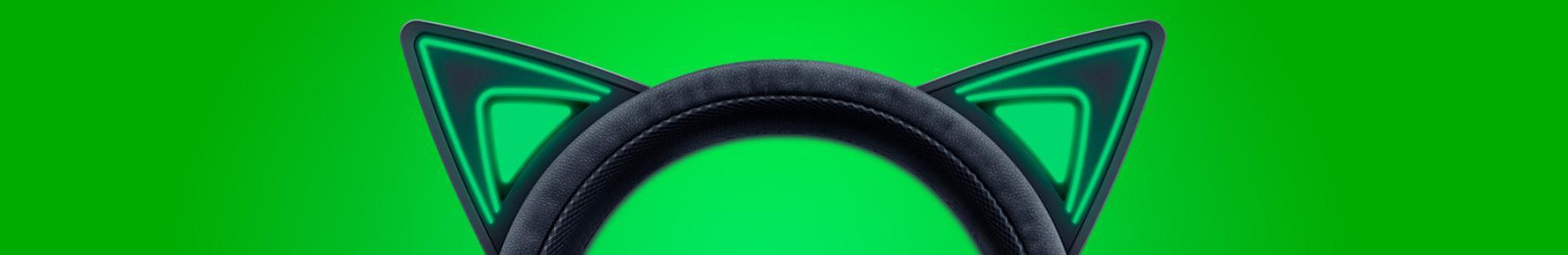 Tai nghe Razer Kraken Kitty Chroma Black RZ04-02980100-R3M1 có phong cách độc đáo