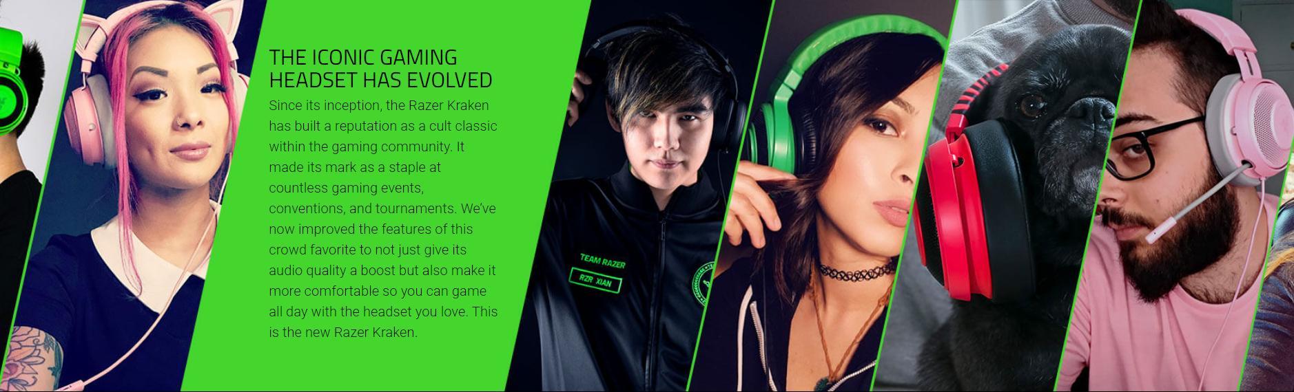 Tai nghe Razer Kraken Multi Platform Wired Gaming Headset Quartz RZ04-02830300-R3M1 2