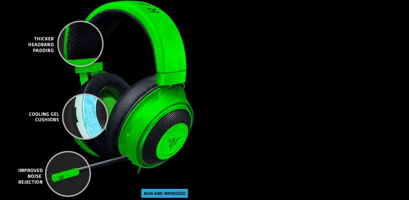 Tai nghe Razer Kraken Multi-Platform Wired Mercury RZ04-02830400-R3M1 1