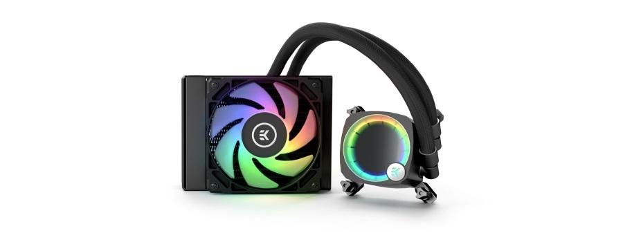 Tản nhiệt nước EK-Nucleus AIO CR120 Lux D-RGB