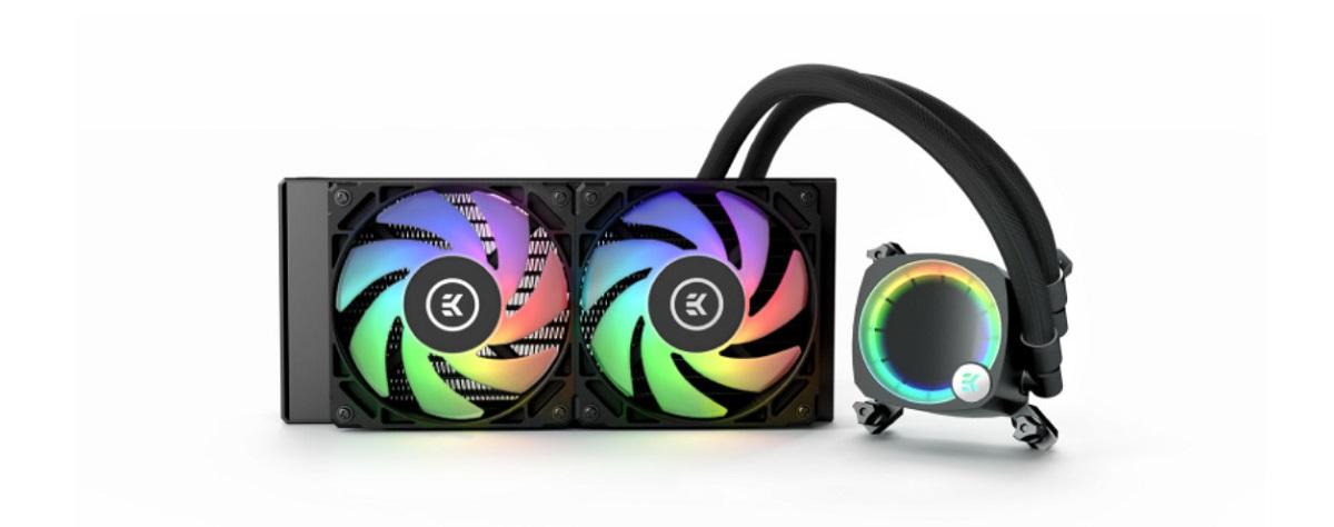 Tản nhiệt nước EK-Nucleus AIO CR240 Lux D-RGB
