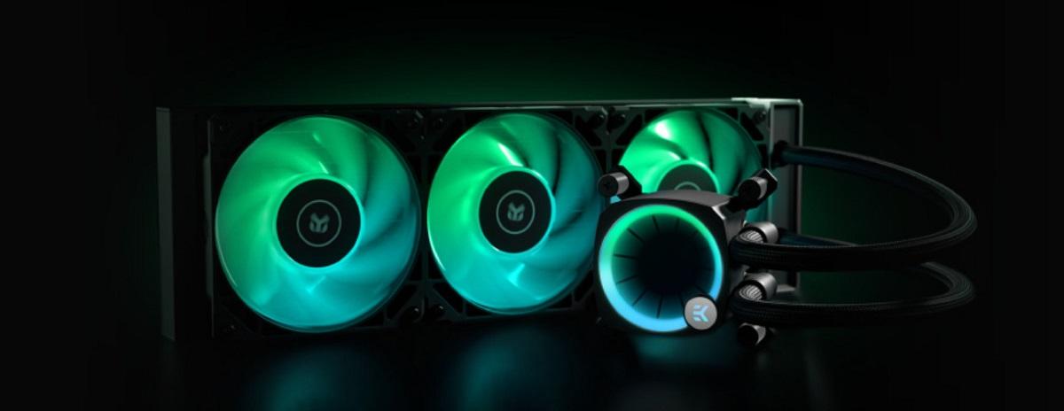 Tản nhiệt nước EK-Nucleus AIO CR360 Lux D-RGB