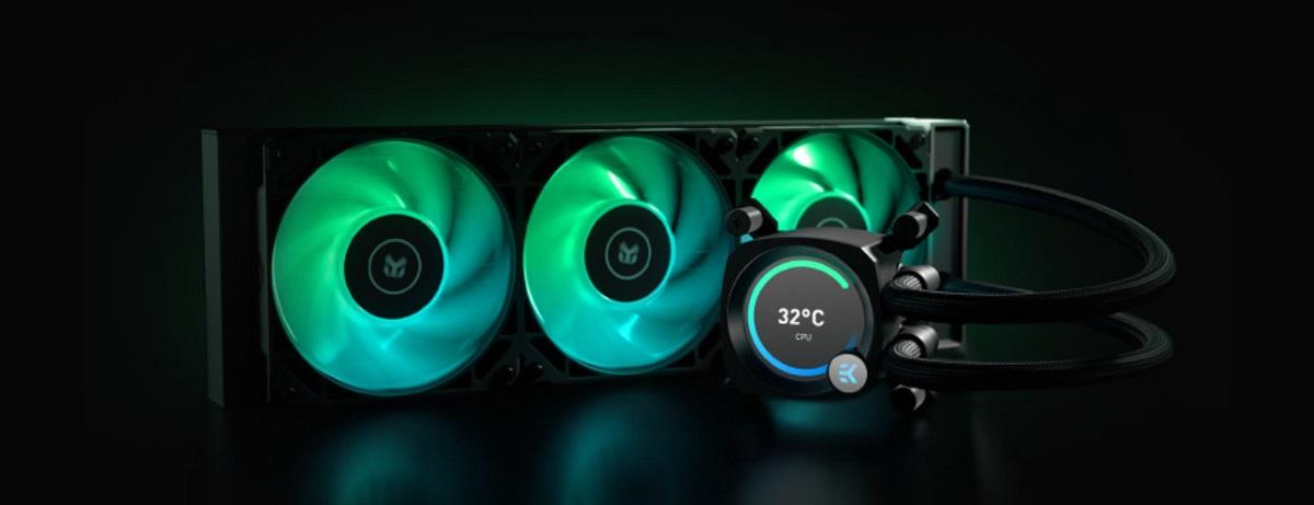 Tản nhiệt nước EK-Nucleus AIO CR360 Vision D-RGB