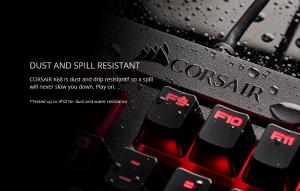 Bàn phím cơ Corsair K68 RGB - Cherry MX Red (CH-9102010-NA) 2