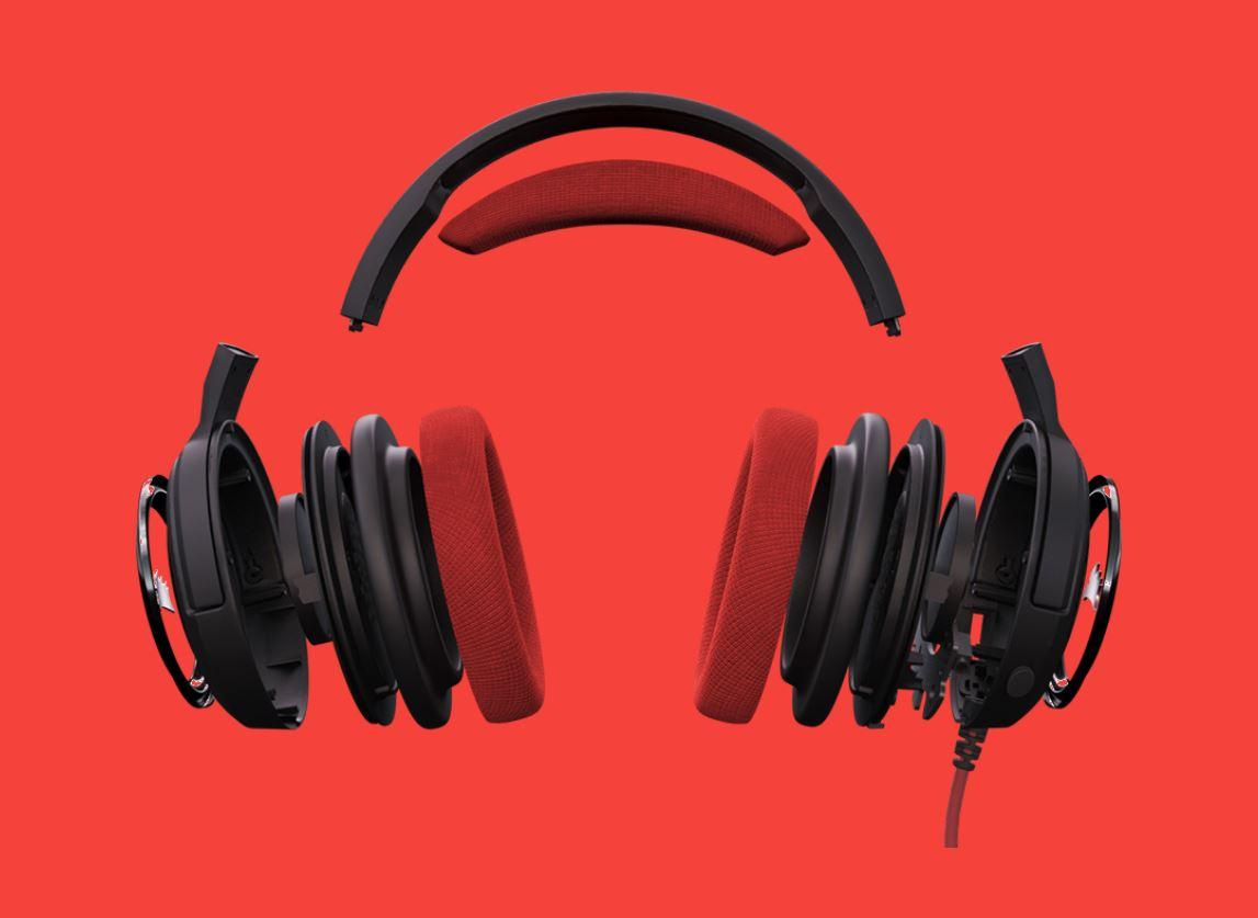 Tai nghe Corsair HS35 Stereo Blue 1
