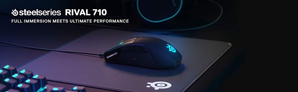 Chuột chơi game SteelSeries Rival 710 (62334)