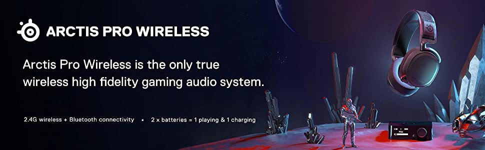 Tai nghe không dây SteelSeries Arctis Pro Wireless 61473