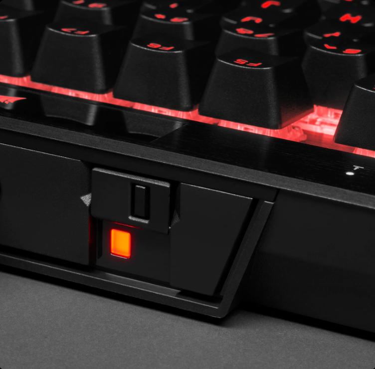 Tính năng chuyển đổi chế độ của Bàn phím Corsair K70 TKL RGB Champion (USB/Speed sw)