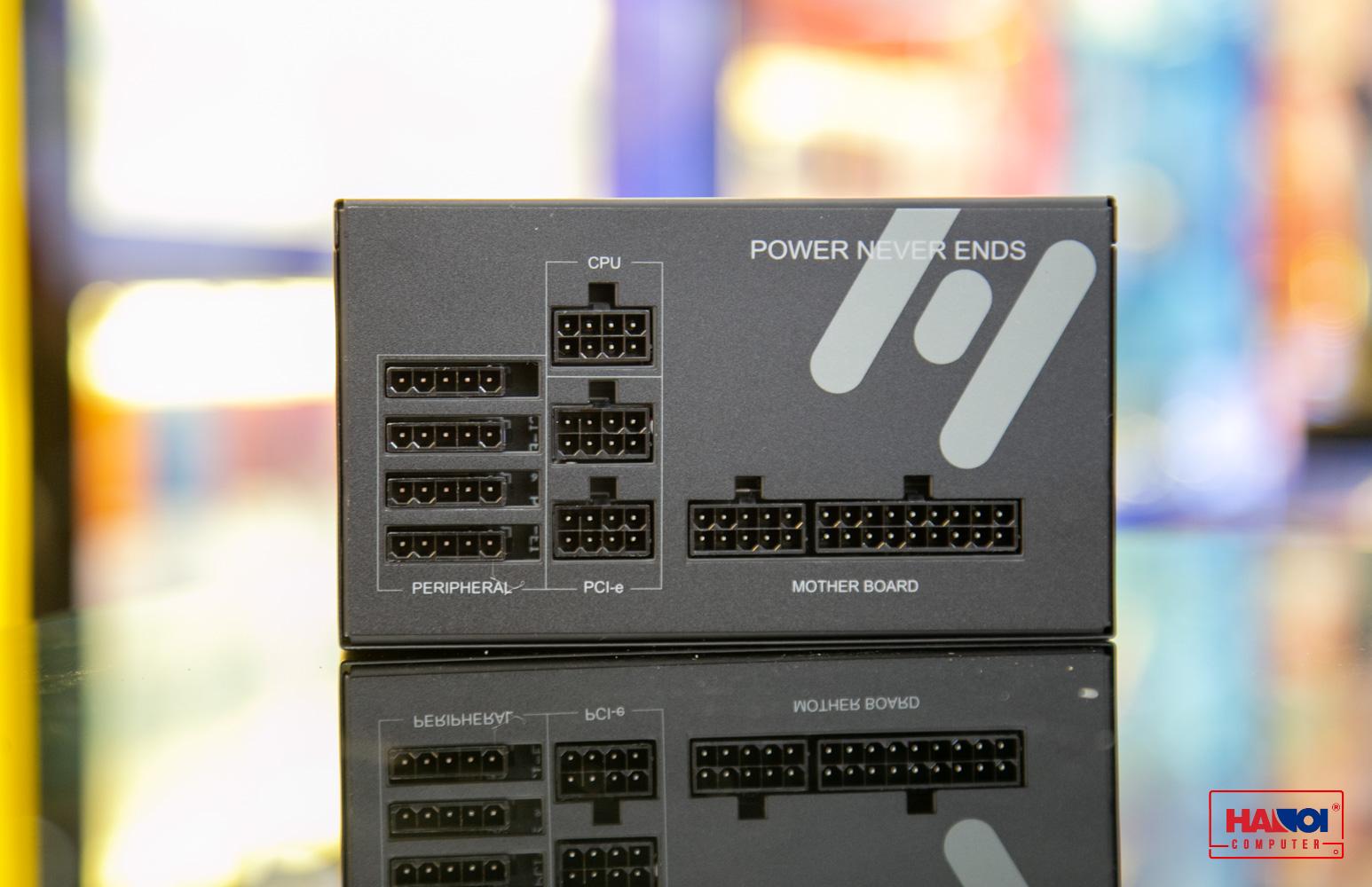 Nguồn FSP Power Supply HYDRO-GE Series Model HGE650 Active PFC (80 Plus Gold/Full Modular/ ATX/Màu Đen) giới thiệu 2