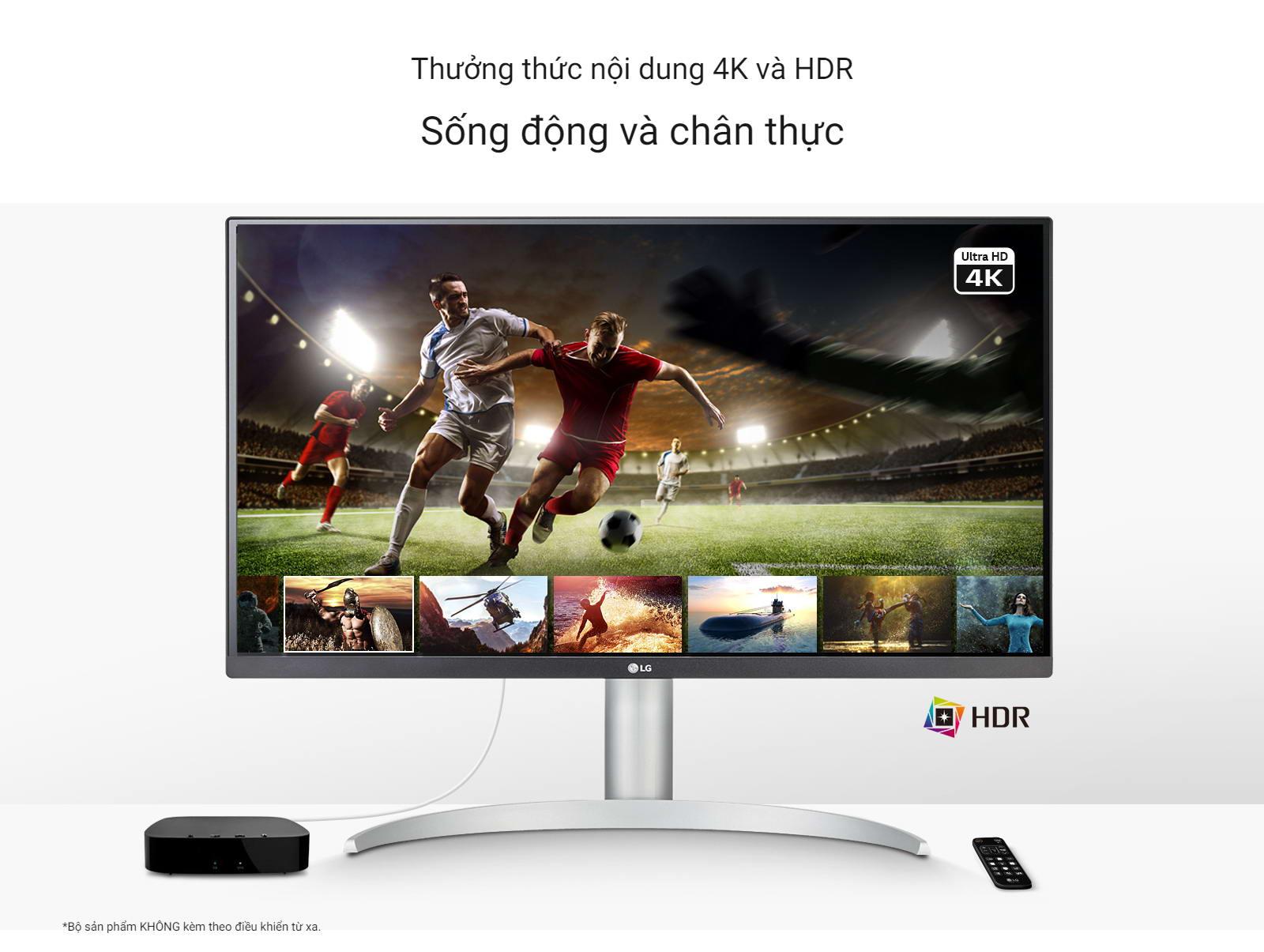 Màn hình LG 27UP850-W 4k HDR