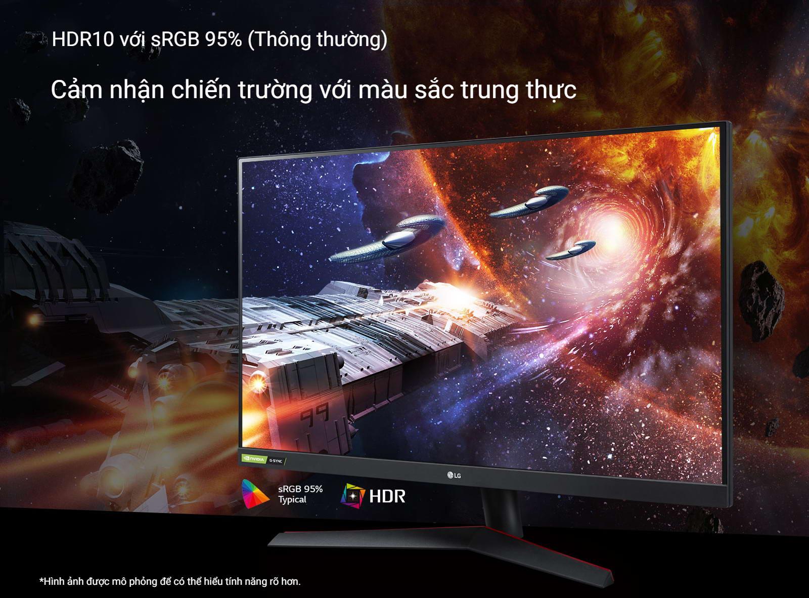 Màn hình LG 32GN600-B HDR10