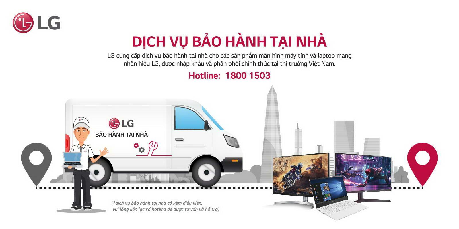Màn hình LG 32MP60G-B bảo hành tại nhà