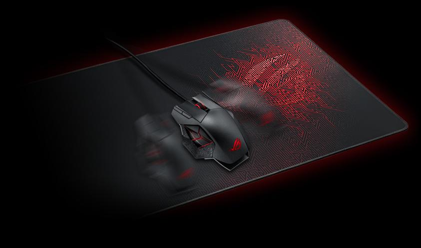 Bàn di chuột Gaming Asus ROG SHEATH có bề mặt được dệt tinh xảo