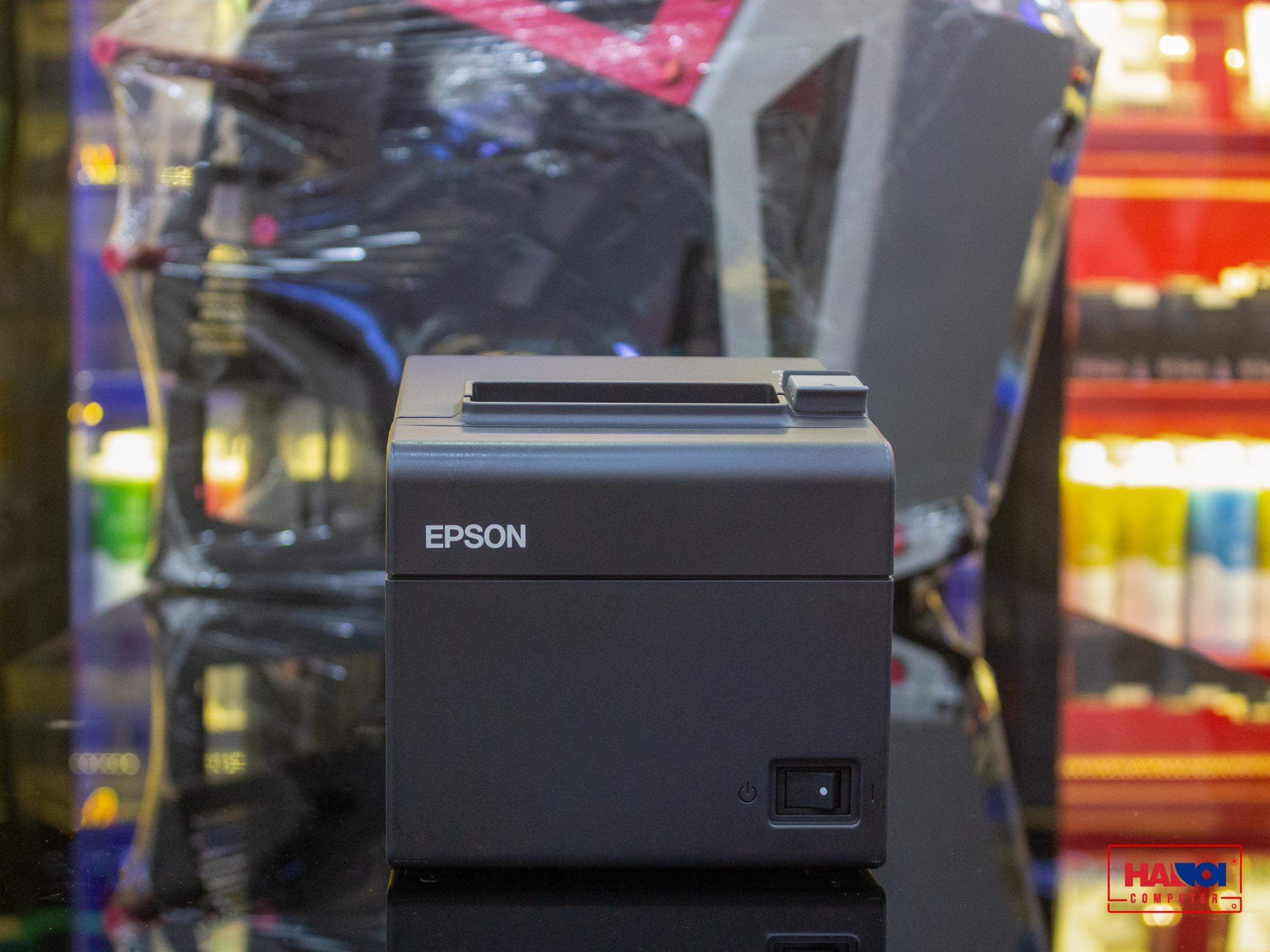 Máy in hóa đơn Epson TM-T82 III ( Cổng USB + LAN ) Tổng thể