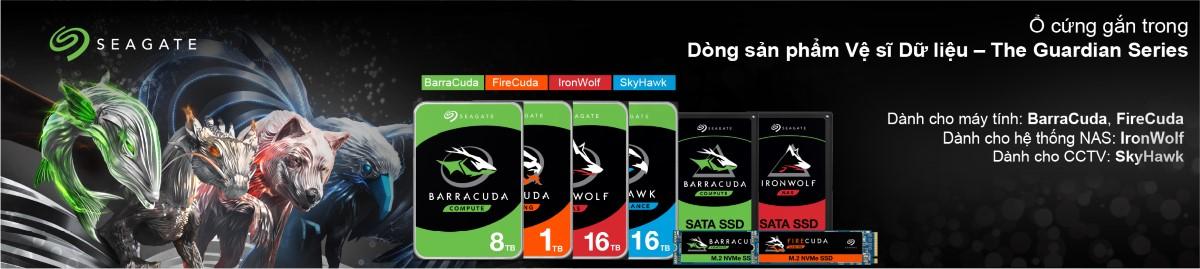 Ổ cứng HDD Seagate Barracuda 2TB
