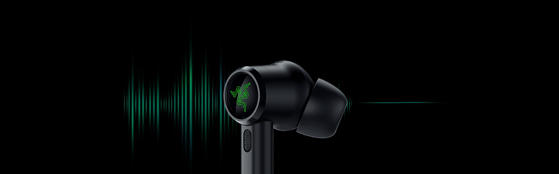 Tai nghe Razer Hammerhead True Wireless Pro RZ12-03440100-R3A1 có tính năng chống ồn chủ động