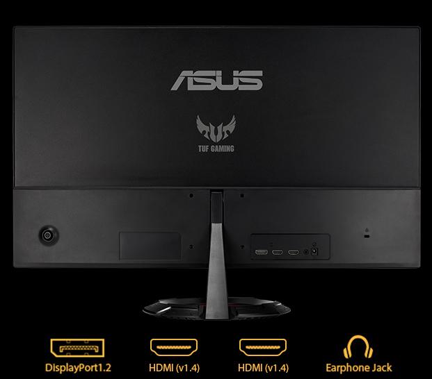 Màn hình Asus VG249Q1R cổng kết nối