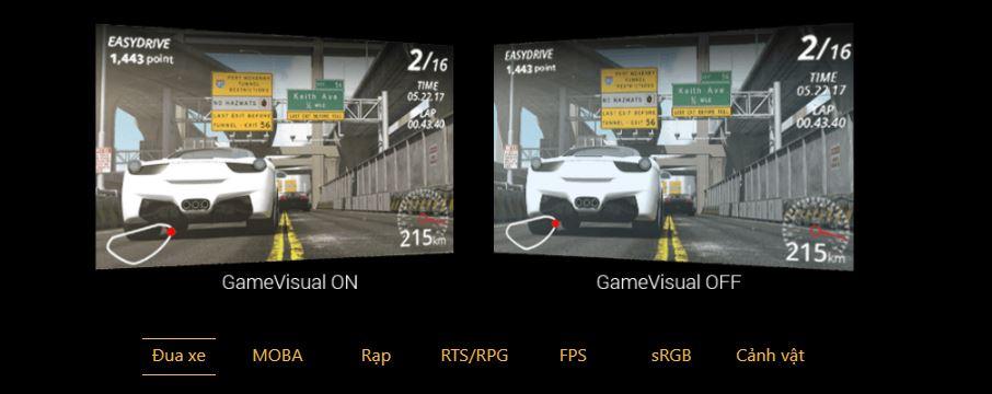 Màn hình Asus VG249Q1R game visual