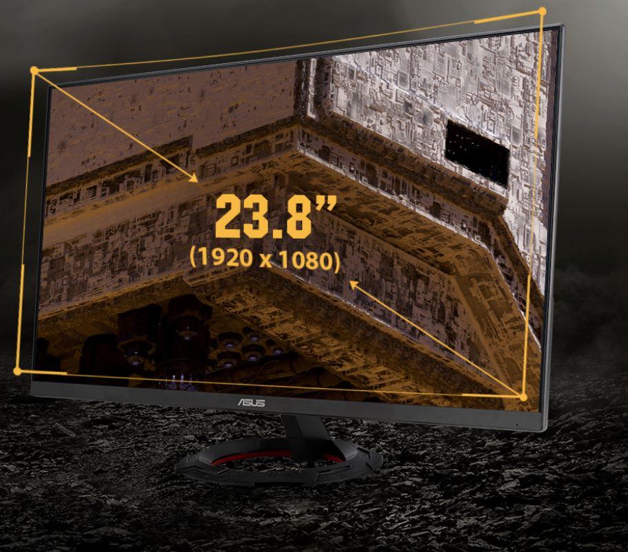 Màn hình Asus VG249Q1R siêu mỏng