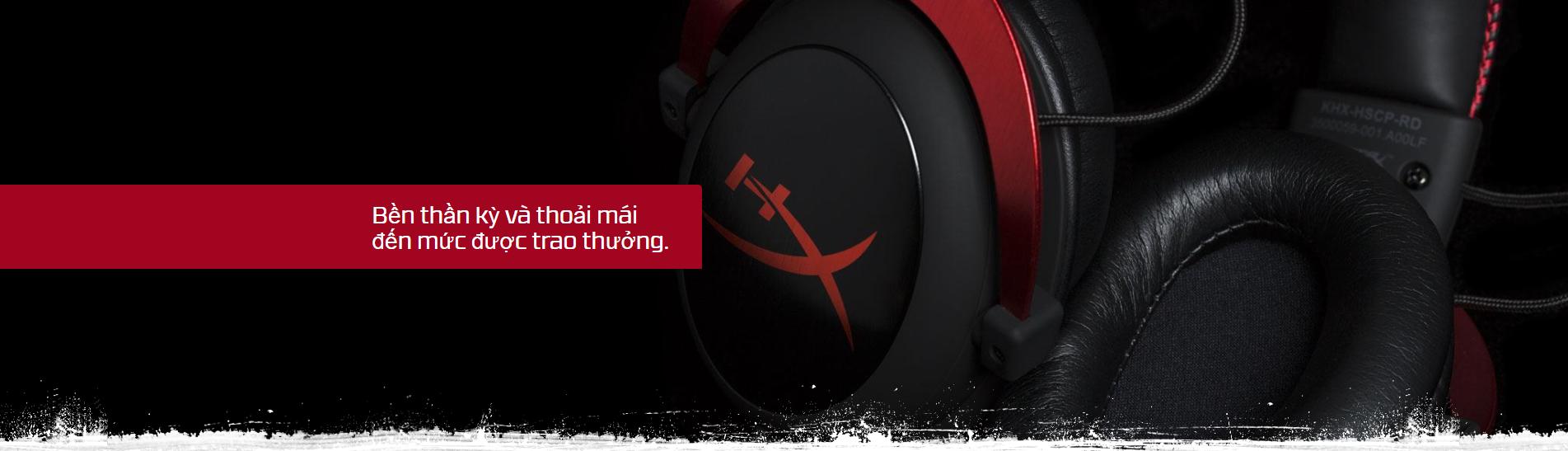 Giới thiệu Tai nghe Kingston HyperX Cloud 2 Gaming  Black (KHX-HSCP-GM)