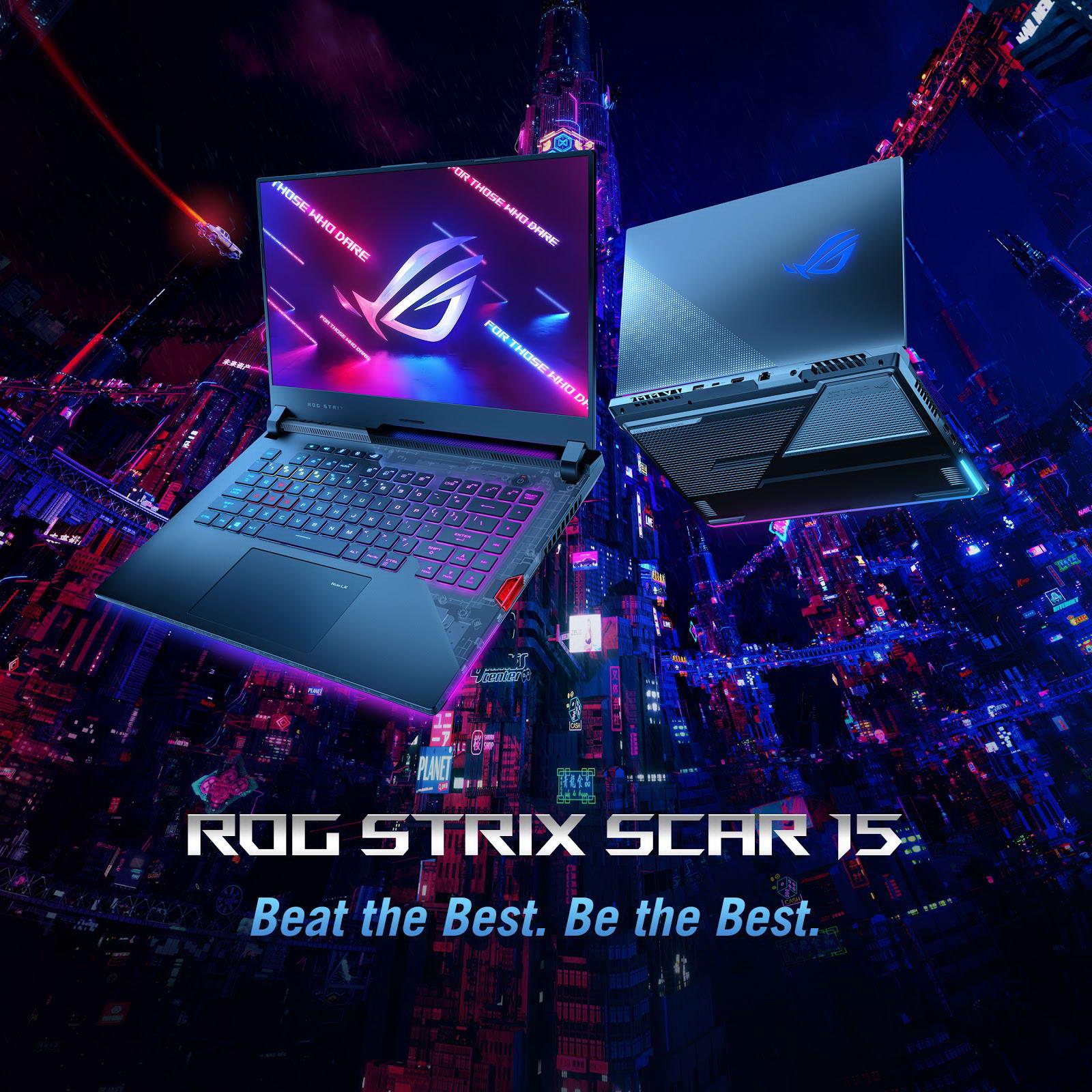 Asus Gaming ROG Strix Scar G533QR