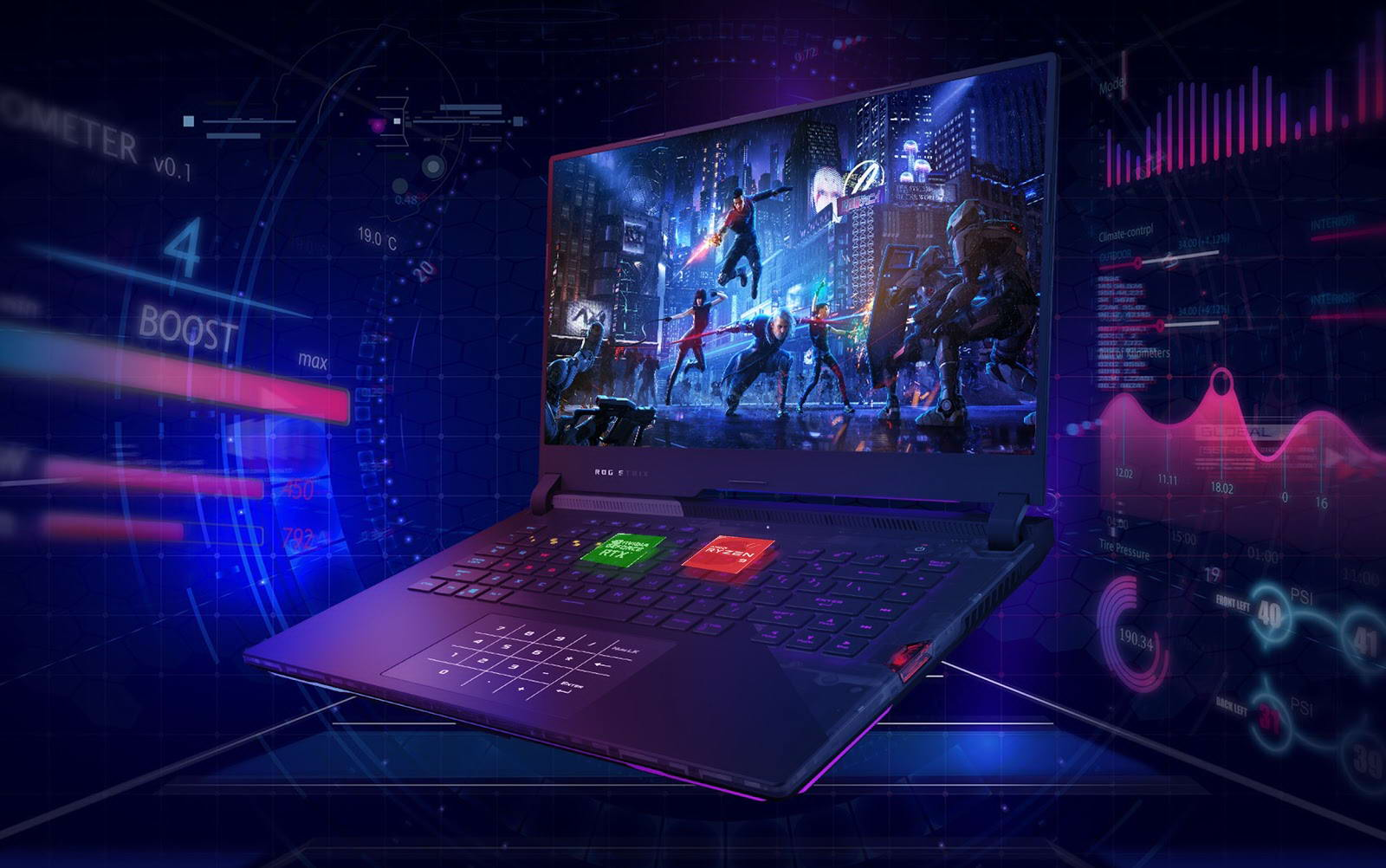 Asus Gaming ROG Strix Scar G533QR hiệu năng