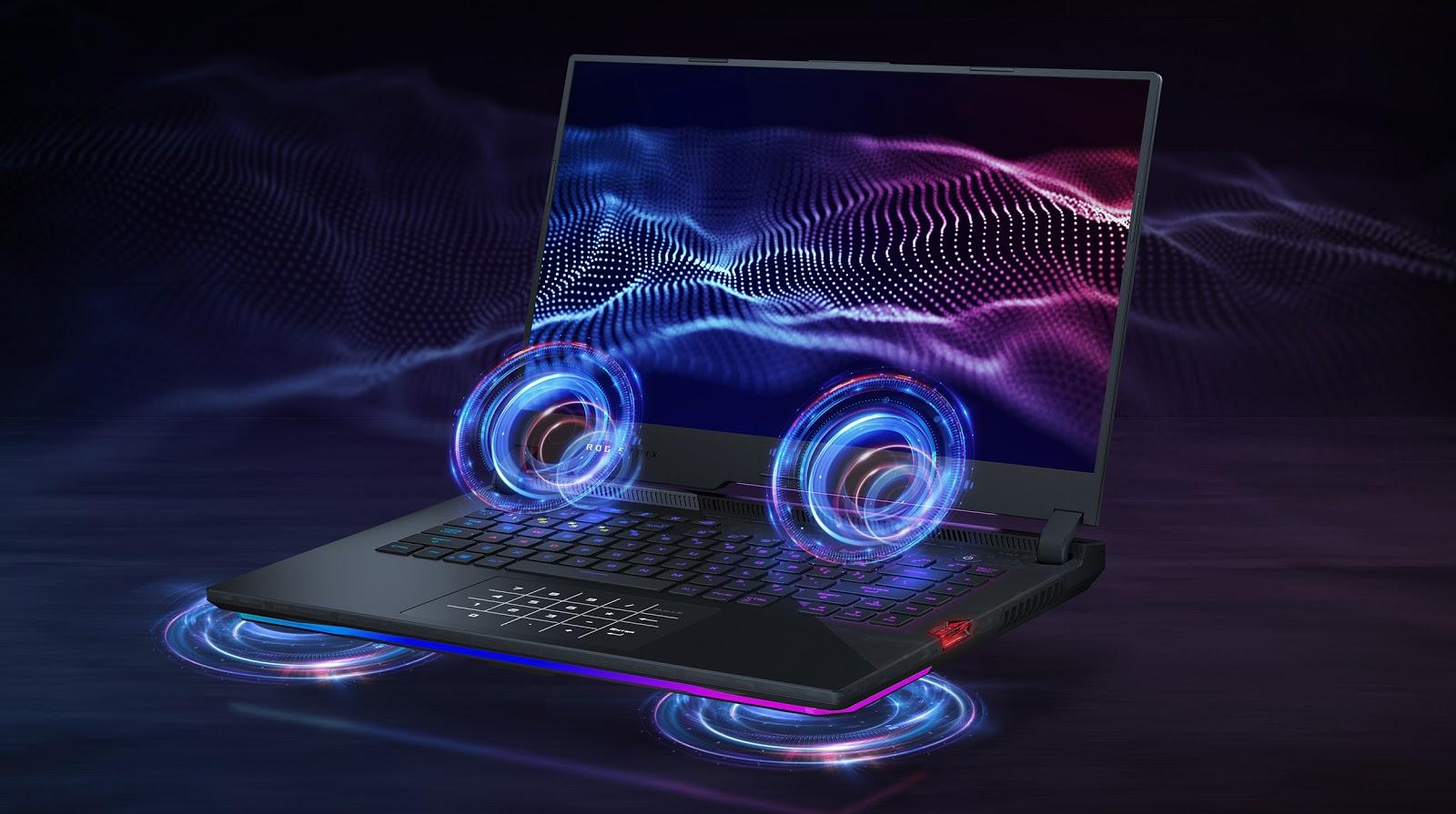 Asus Gaming ROG Strix Scar G533QR audio