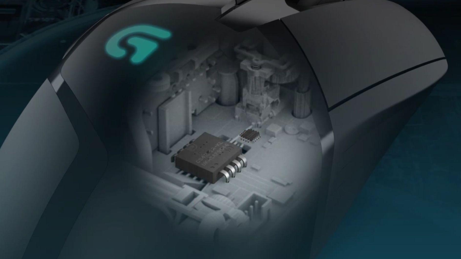 Công nghệ Fusion Engine của Chuột chơi game Logitech G402 cho tracking tốc độ cao
