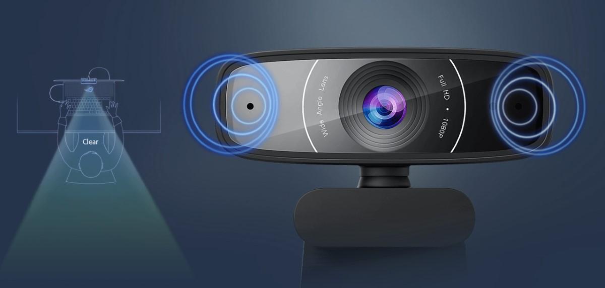 Webcam ASUS C3 1080p 3