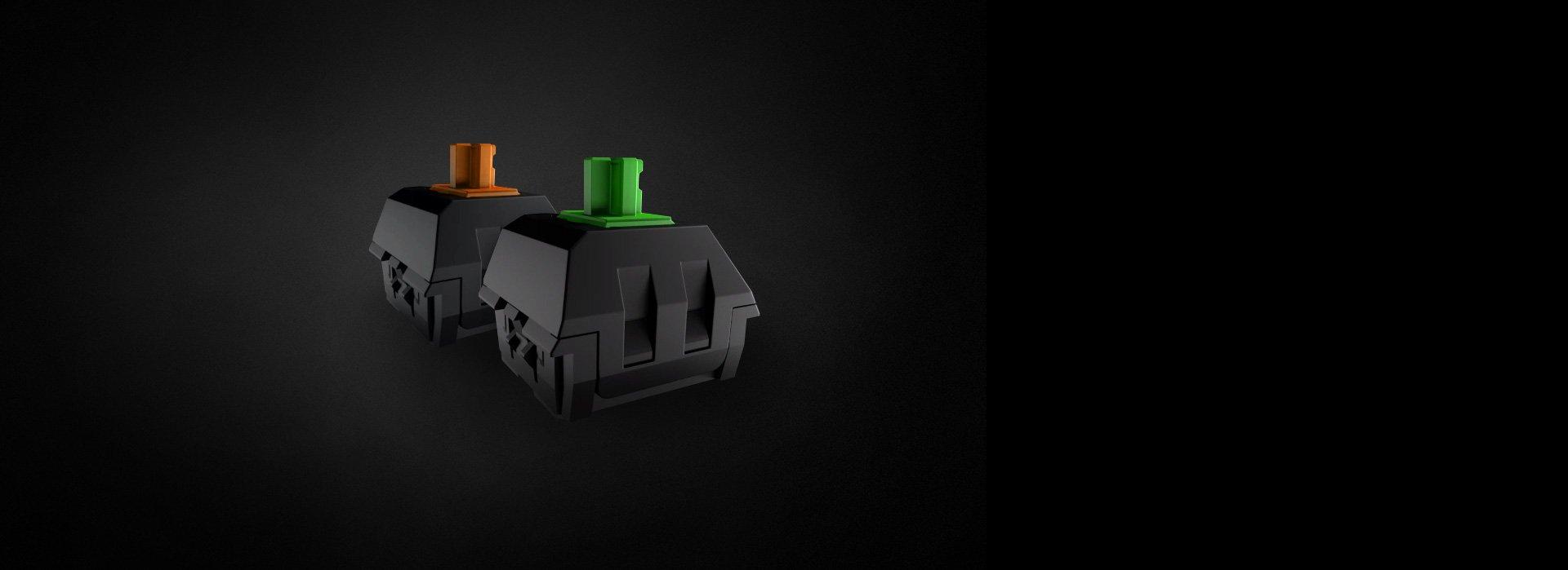 Bàn phím cơ Razer BlackWidow Tournament Edition Chroma (RZ03-01430200-R3M1)  sử dụng switch độc quyền của Razer