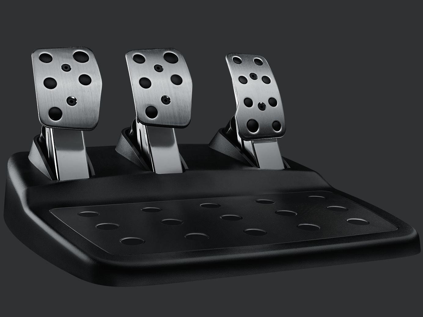 Bàn đạp Pedal có thể điều chỉnh của Vô Lăng chơi game Logitech G29 DRIVING FORCE