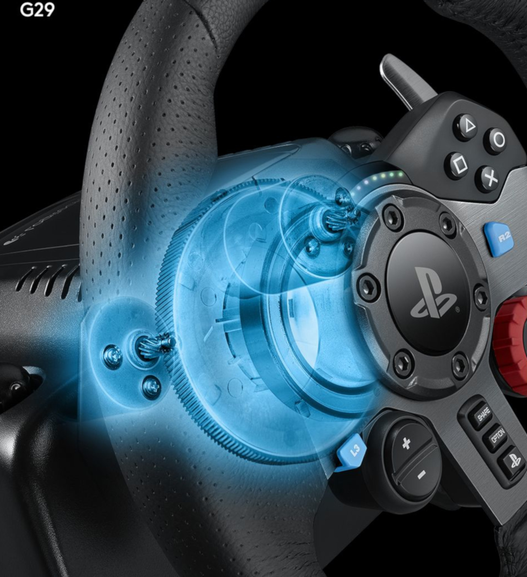 Chơi game đua xe giống thực tế với Vô Lăng chơi game Logitech G29 DRIVING FORCE