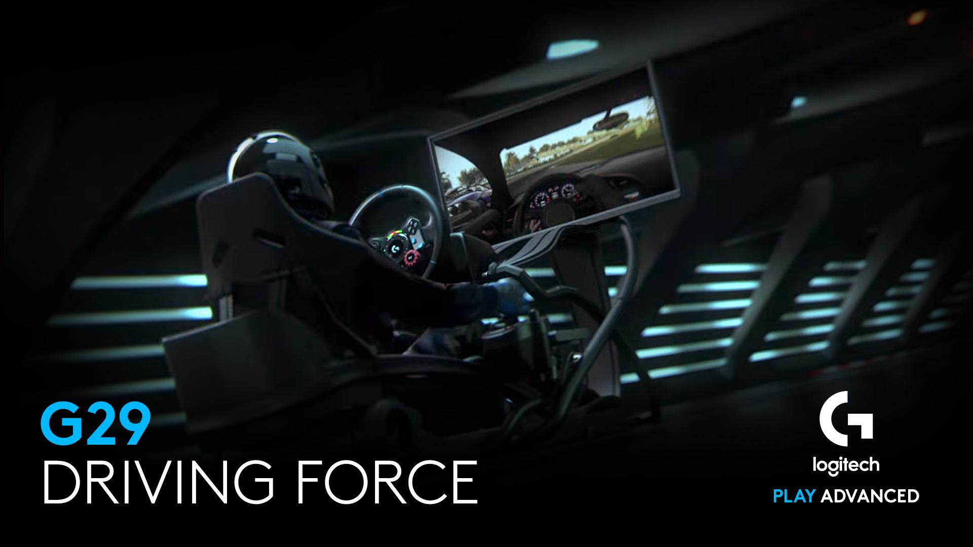 Giới thiệu Vô Lăng chơi game Logitech G29 DRIVING FORCE