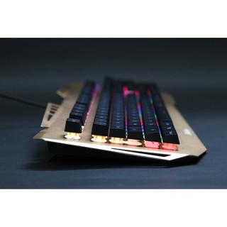 Bàn phím gaming Fuhlen G37S Led backlight USB- Gaming  trang bị dải led nhiều hiệu ứng
