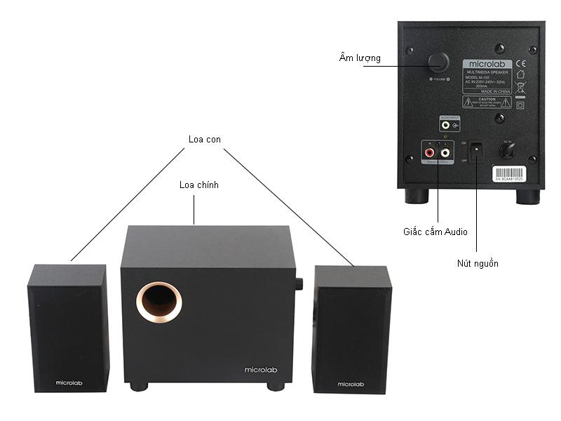 Loa Microlab M105 2.1 1