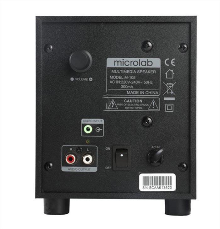 Loa Microlab M105 2.1 2