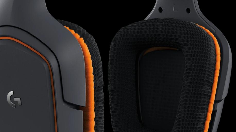 Tai nghe Logitech G231 Prodigy Gaming Headset trang bị đệm tai thoải mái