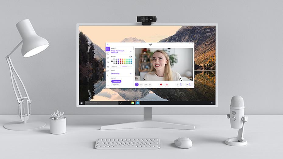 Webcam Logitech HD Webcam C922 5