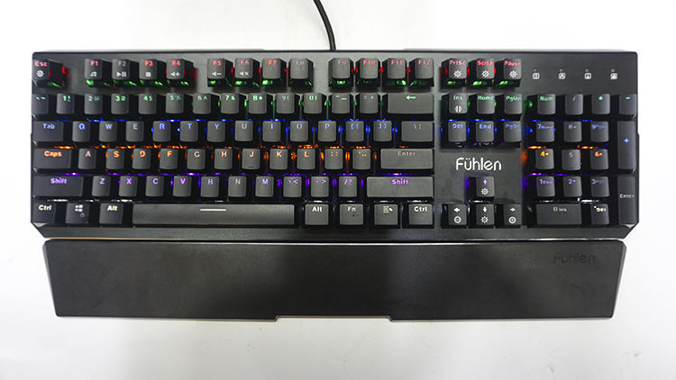 Giới thiệu Bàn phím gaming Fuhlen D Destroyer Mechanical Blue Switch Black