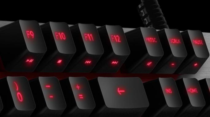 Bàn phím cơ Logitech G413 Carbon Mechanical Backlit Gaming tích hợp phím media tiện lợi