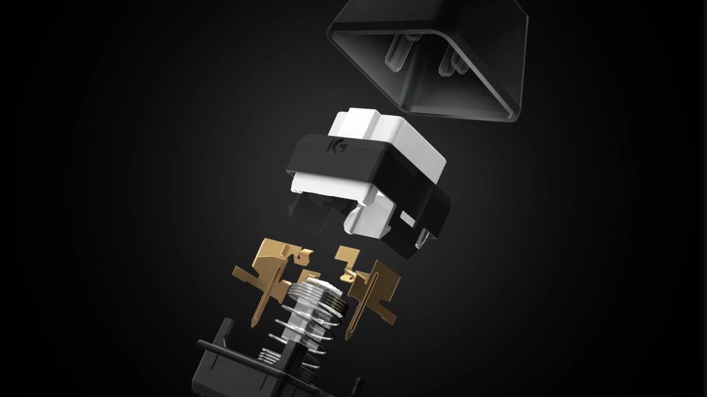 Bàn phím cơ Logitech G413 Carbon Mechanical Backlit Gaming sử dụng switch Romer-G độc quyền