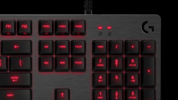 Bàn phím cơ Logitech G413 Carbon Mechanical Backlit Gaming được chế tạo bằng vật liệu cao cấp