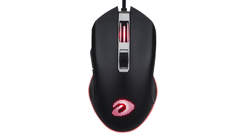 Chuột chơi game Dareu EM905 RGB USB Black  có thiết kế đẹp mắt