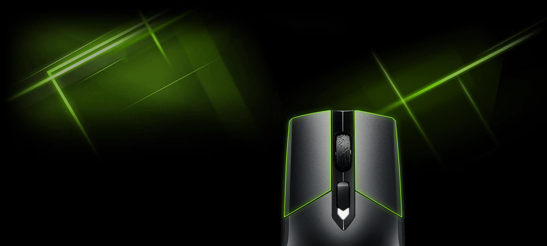 Chuột chơi game Asus ROG Strix Impact có thiết kế 2 nút bấm tách biệt