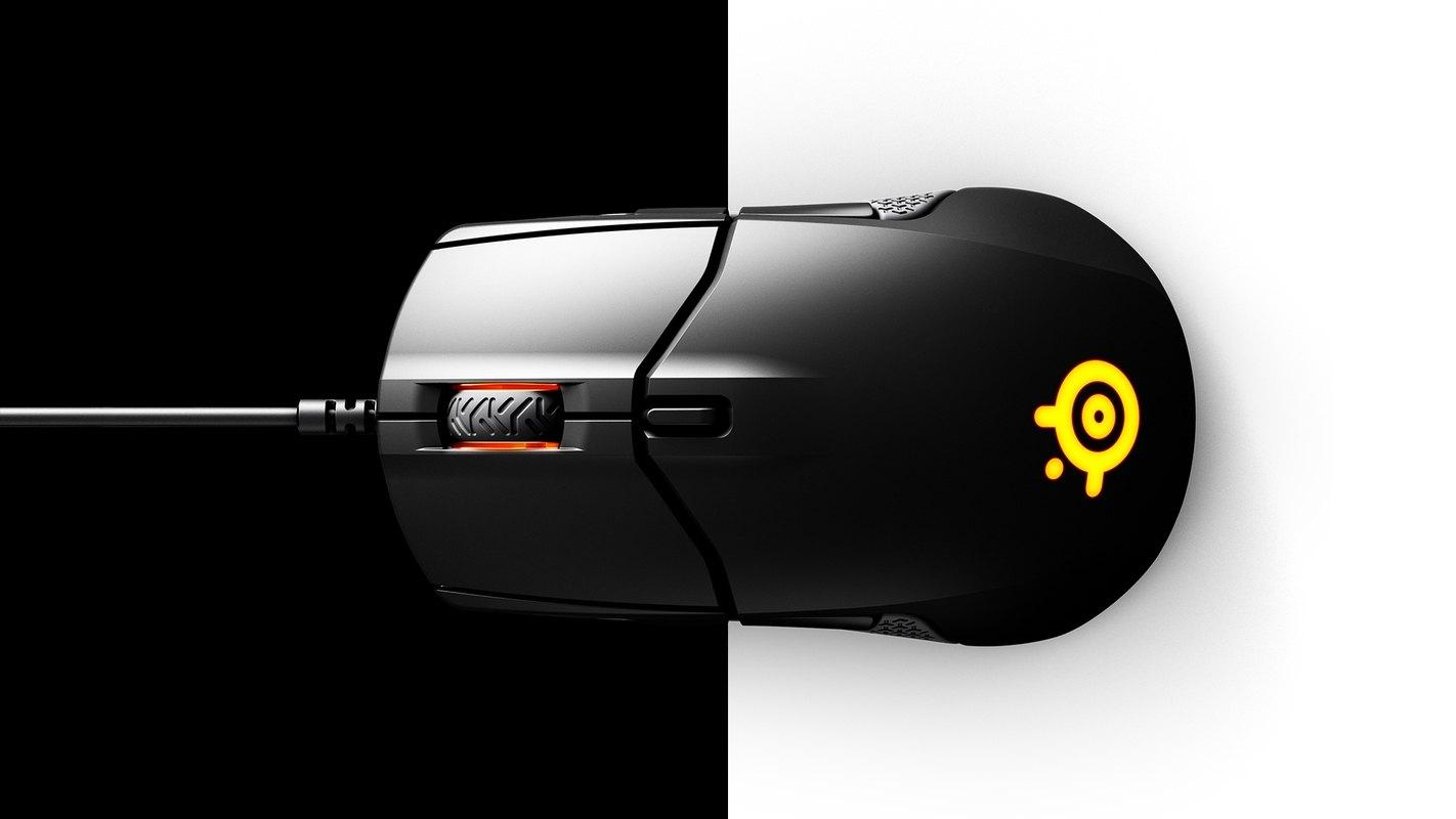 Chuột chơi game SteelSeries Sensei 310 Black (RGB) có thiết kế 2 nút bấm tách rời vỏ
