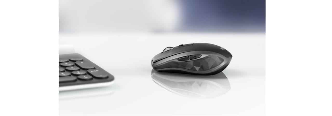 Chuột không dây Logitech MX Anywhere 2S Wireless Black  tích hợp mắt cảm biến chất lượng cao